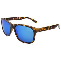 Womens Ridged Tortoise Sunglasses