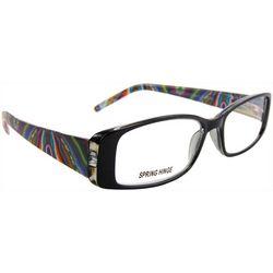 Bay Studio Womens Multi-Color Half Reading Glasses