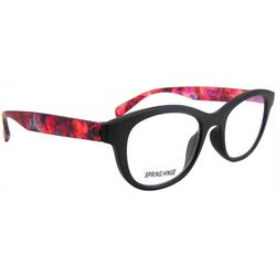 Womens Abstract Print Reading Glasses