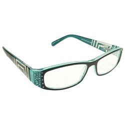 Infini Womens Rectangle Reading Glasses