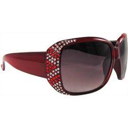 Infini Womens Rhinestones Sun Reading Glasses