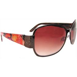 Infini Womens Floral Print Sun Reading Glasses