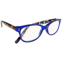 Infini Womens Blue Multi Reading Glasses