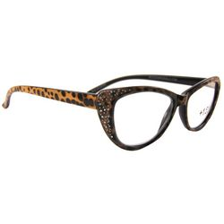 Bay Studio Womens Animal Print Reading Glasses
