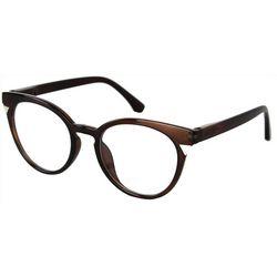 Optimum Womens Bronze Brown Reading Glasses