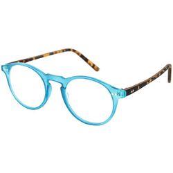 Optimum Womens Blue & Tortoise Brown Reading Glasses