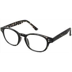 Optimum Womens Tortoise Black Reading Glasses