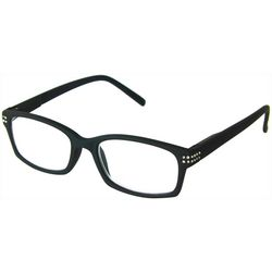 Optimum Womens Moxie Black Reading Glasses