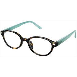 Optimum Womens Shelby Tortoise Brown Reading Glasses