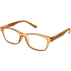 Optimum Womens Light Brown Reading Glasses
