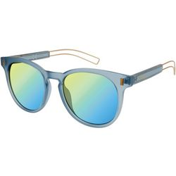 Circus by Sam Edelman Womens Blue Gold Tone Sunglasses