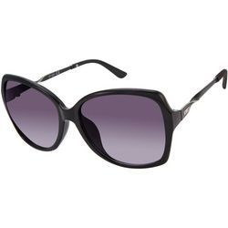 Jessica Simpson Womens Twist Black Sunglasses