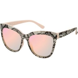 Circus by Sam Edelman Womens Snakeskin Print Sunglasses