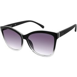 Jessica Simpson Womens Black Cat Eye Sunglasses