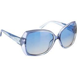 Jessica Simpson Womens Blue Glamour Sunglasses