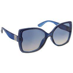 Jessica Simpson Womens Glamour Glitter Sunglasses