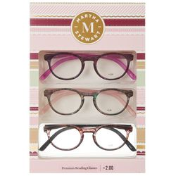 Martha Stewart Womens 3-pk. Assorted Reading Glasses