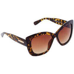 Tahari Womens Glam Cateye Tortoiseshell Sunglasses