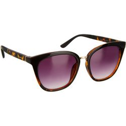 Unionbay Womens Tortoise Brown Cat Eye Sunglasses