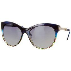 Southpole Womens Tortoise Shell Cat Eye Sunglasses