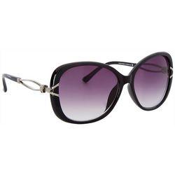 Southpole Womens Oversized Oval Sunglasses