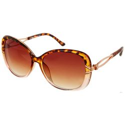 Southpole Womens Large Tortoise Sunglasses