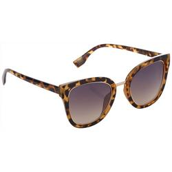 Womens Tortoise Cateye Sunglasses