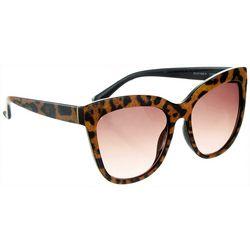 Circus by Sam Edelman Womens Leopard Cateye Sunglasses