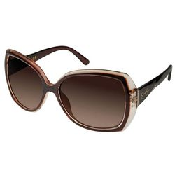 Jessica Simpson Womens Solid Glam Sunglasses