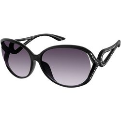 Southpole Womens Black Vented Sunglasses