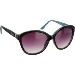 Unionbay Womens Two Tone Cat Eye Sunglasses