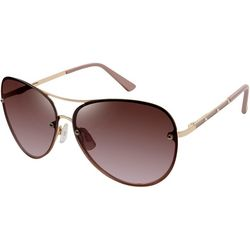 Tahari Womens Metal Aviator Sunglasses
