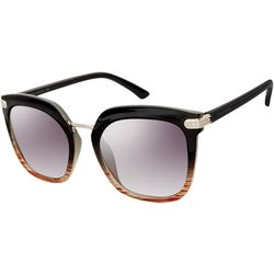 Tahari Womens Black & Brown Sunglasses