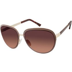 Tahari Womens Metal Framed Aviator Sunglasses