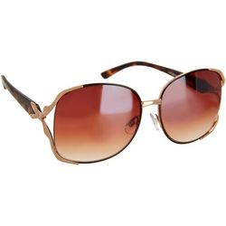 Southpole Womens Glamour Vented Frame Sunglasses