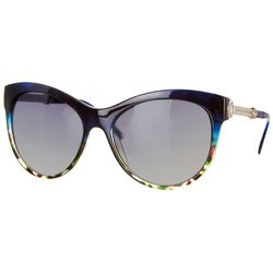 Southpole Womens Tortoise Shell Cat Eye Sunglasses