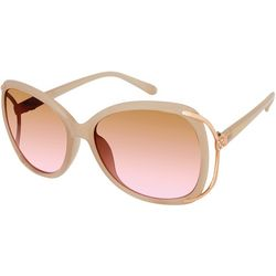 South Pole Womens Large Oval Tinted Sunglasses