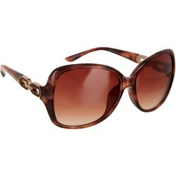 Southpole Womens Oval Links Sunglasses