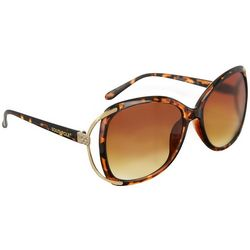 Southpole Womens Tortoise Brown Sunglasses