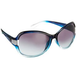Southpole Womens Ombre Blue Sunglasses