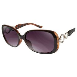 Southpole Womens Rectangle Sunglasses