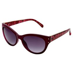 Betsey Johnson Womens Printed Sunglasses