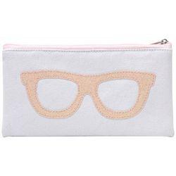 Betsey Johnson Womens Sparkle Eyewear Case