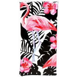 Betsey Johnson Womens Flamingo Eyewear Case