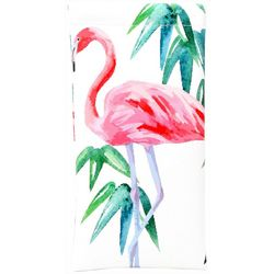 Betsey Johnson Womens Tropical Flamingo Eyewear Case