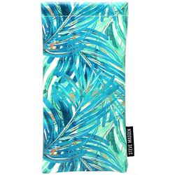 Steve Madden Womens Palm Frond Eyewear Case