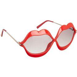 Betsey Johnson Womens Lots Of Lips Sunglasses