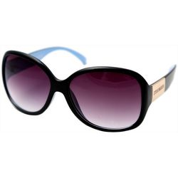 Madden Girl Womens Rectangular Sunglasses