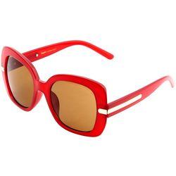 Steve Madden Womens Fashion Square Sunglasses