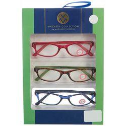 Macbeth Womens 3-pk. Premium Reading Glasses